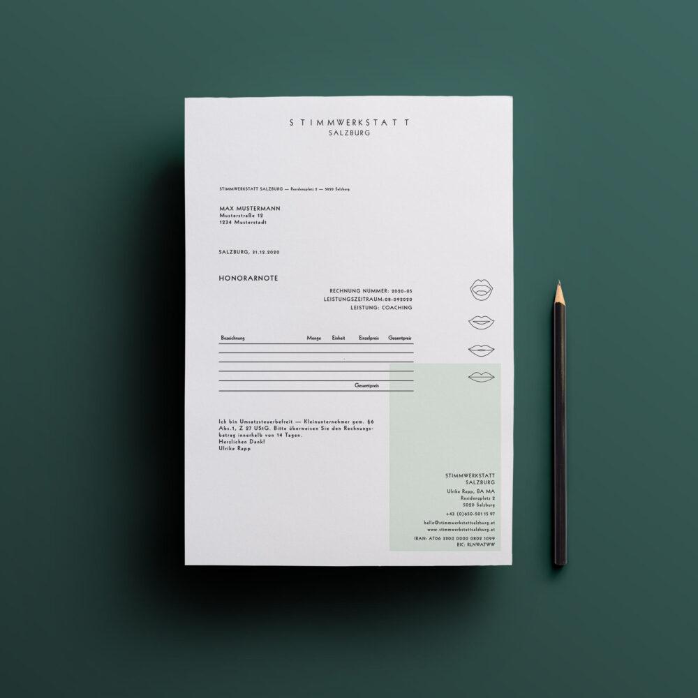 Rechnungspapier